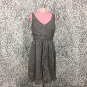 J. Crew Crepe Silk Formal Dress